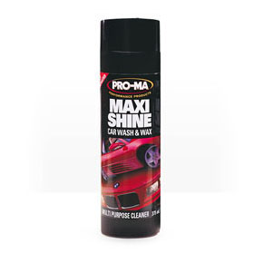 Pro-ma Maxi Shine Car Wash, Wax and Multi Purpose Cleaner