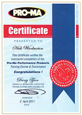 Pro-ma_Training_Certificate